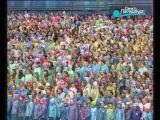 Выступление сводного хора из 5000 человек на Исаакиевской площади. 26.05.13